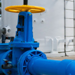 Pipeline of Fresh Water from a Public Water Facility