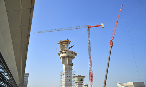 Construction of Airport Tower