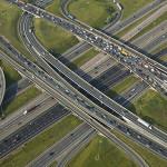 Large Highway Interchange