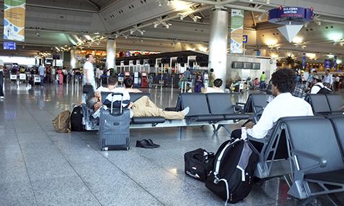 Terminal Waiting Area